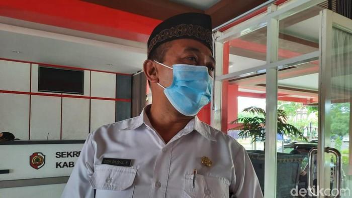 Penjabat Sekda Kabupaten Mojokerto Didik Chusnul Yakin