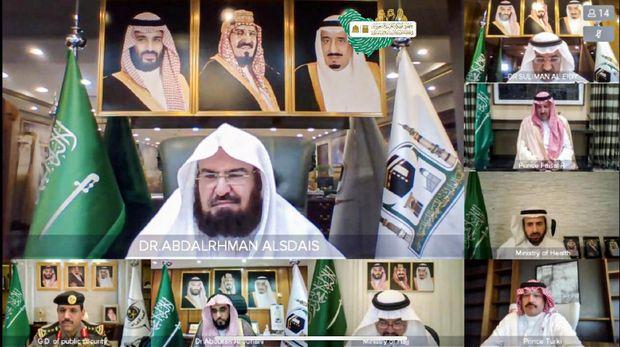 Sheikh Dr. Abdul Rehman Al Sudais.