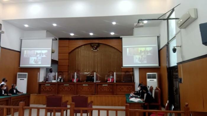 Sidang putusan sela Jumhur Hidayat (Foto: Dwi/detikcom)