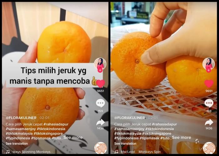 Tips Memilih Jeruk Mandarin yang Manis Tanpa Harus Mencicipi