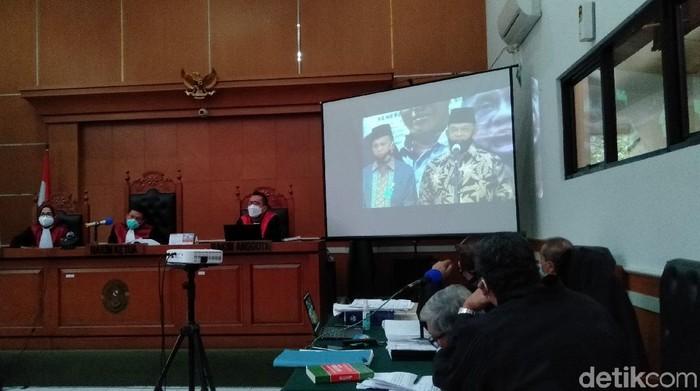 Video Pidato Gatot soal Omnibus Law Ditayangkan di Sidang Syahganda