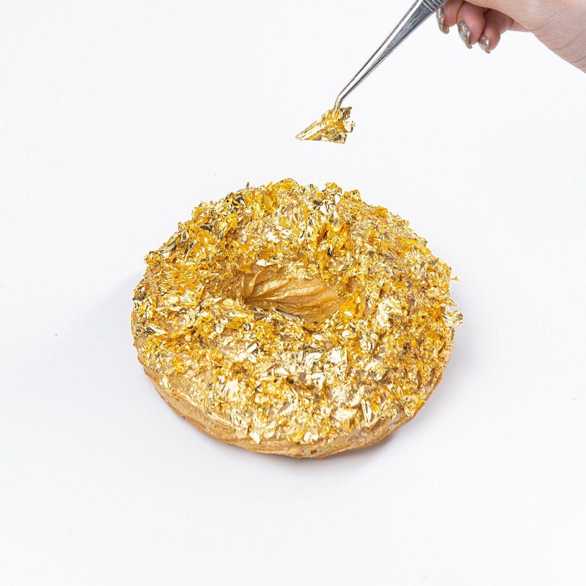 Berlapis Emas 24 Karat, Donat Ini Harganya Sebuah Rp 1,9 Juta