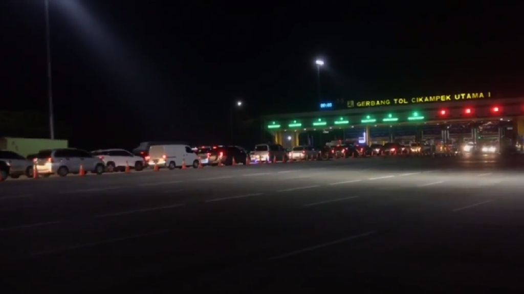 Sekitar 93 Ribu Kendaraan Menuju Palimanan Sejak Kemarin