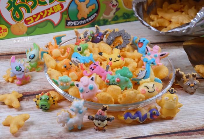 kue ikan bentuk pokemon