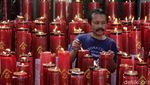 Perayaan Imlek dengan Protokol Kesehatan di Bandung