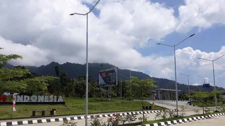 Pos Lintas Batas Negara (PLBN) Skouw