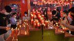 Potret Malam Perayaan Imlek di Berbagai Wilayah Indonesia