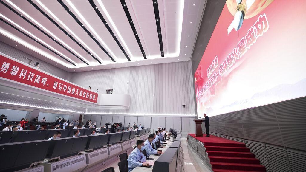 Sorak Sorai China Datangi Mars untuk Pertama Kalinya