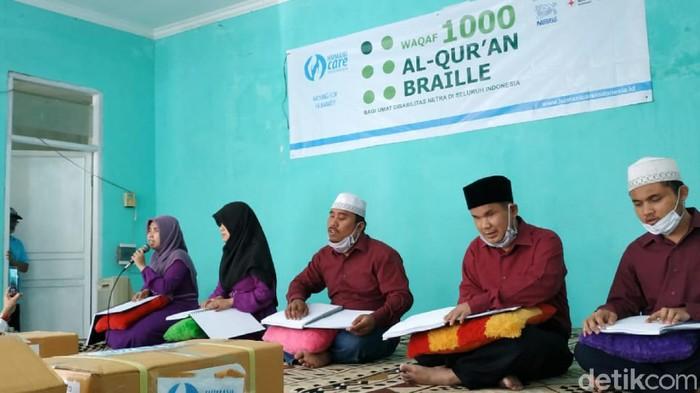 Al-Quran Braille di Sukabumi