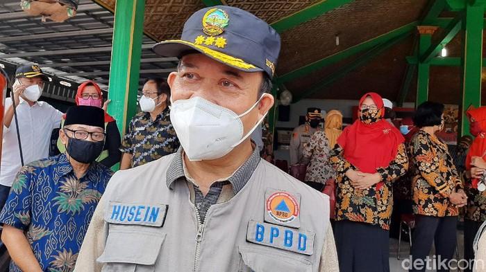 Bupati Banyumas, Achmad Husein, Sabtu (13/2/2021).
