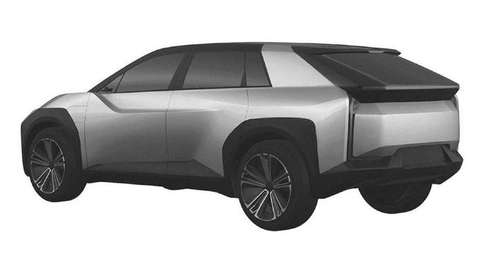 Ilustrasi SUV listrik Toyota