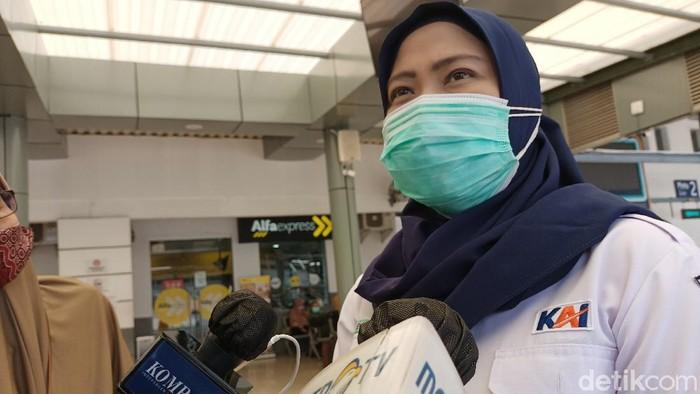 Kepala Humas PT KAI Daop 1 Jakarta Eva Chairunisa
