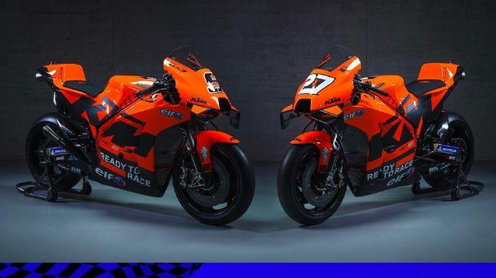 Dua Tim KTM Luncurkan Motor MotoGP 2021, Ini Penampakannya