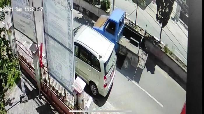 Polisi bantah kaca belakang mobil Ketua Bawaslu Kota Sungai Penuh Jambi ditembak