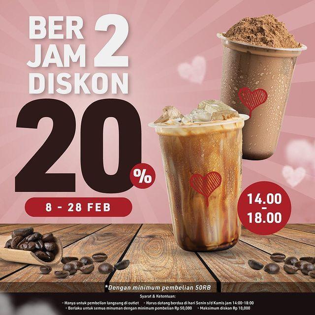 Rayakan Valentine, Ini 5 Promo Diskon Burger hingga Es Kopi Susu
