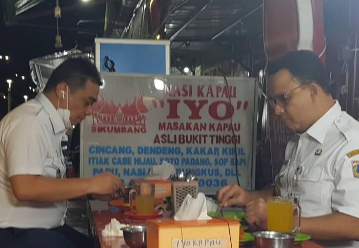 riza patria makan nasi kapau bareng anies baswedan