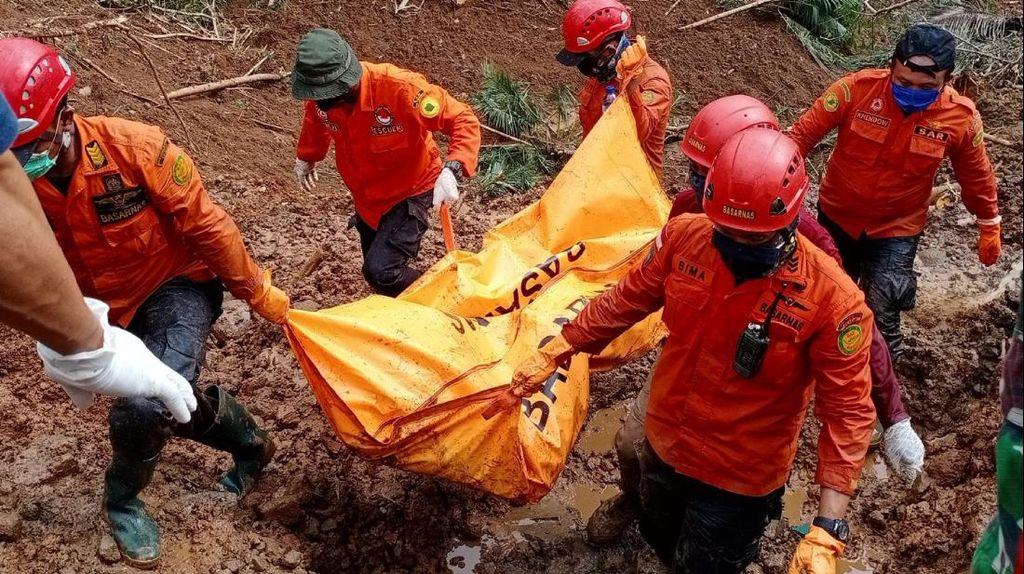 Hilang 5 Hari, Jenazah Korban Tertimbun Longsor di Kebumen Ditemukan