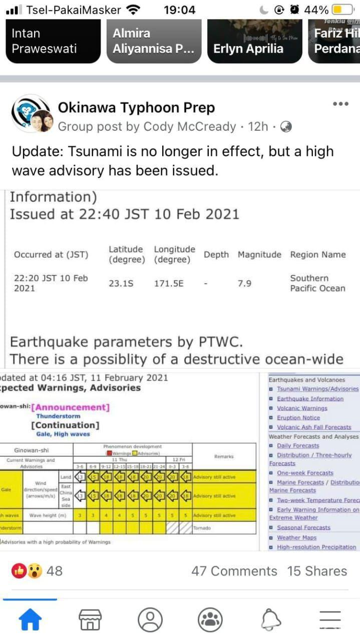 Gempa di Jepang