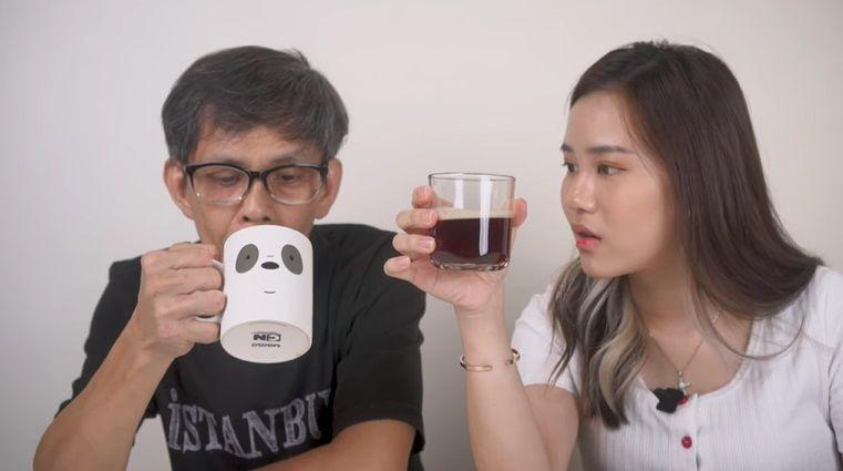 jessica jane bandingkan kopi luwak
