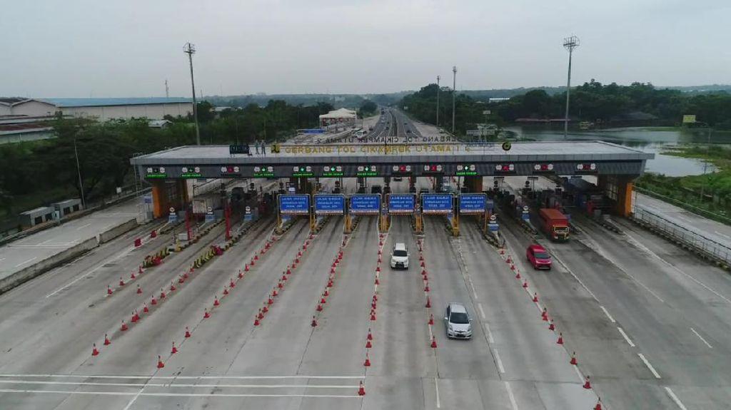 Long Weekend, 8 Ribu Kendaraan Tinggalkan Jakarta Lewat Tol Cikatama