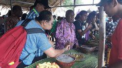 Meski Pandemi, Festival Makan Papeda di Kampung Abar Tetap Digelar