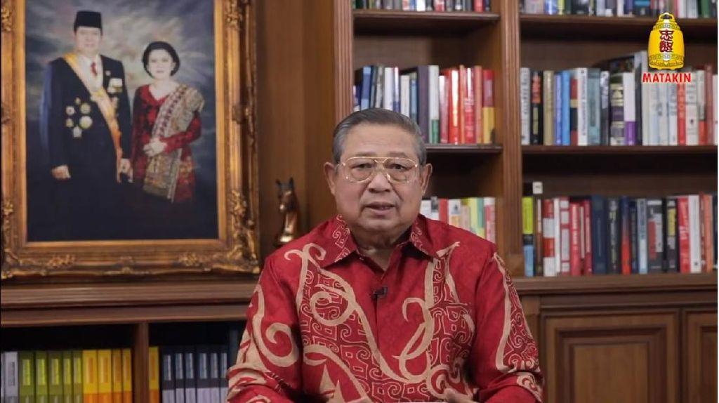 Dilanda Bencana Bersamaan, SBY Ajak Bertobat Sebelum Terlambat