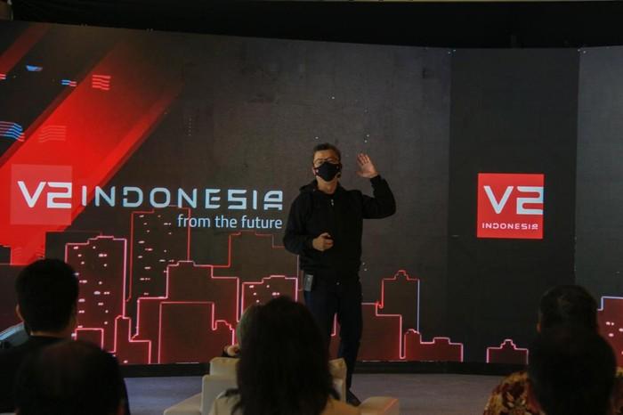 Logo baru V2 Indonesia