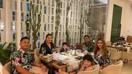 Kompaknya Ashanty bersama Keluarga saat Kulineran