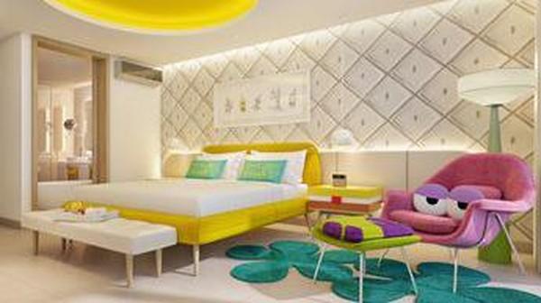Suite ini memiliki harga yang berbeda. Dengan 3.000 kaki persegi dengan tepi pantai seluas 700 kaki persegi, ada berbagai fasilitas tambahan dan layanan pribadi, harganya USD 8.828 atau sekitar Rp 122 juta per malam yang menampung hingga 5 orang (Nickelodeon Hotel & Resort)