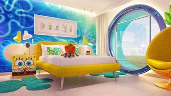 Nickelodeon segera membuka hotel dan resor bertema berbagai serial kartun, salah satunya Spongebob. (Nickelodeon Hotel & Resort)