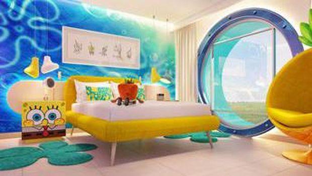 Hotel bertema Spongebob di Meksiko