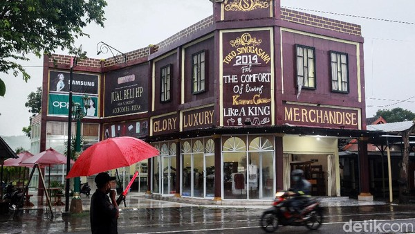 Kampung Coklat berada di Jalan Bantengblorok, Kademangan.