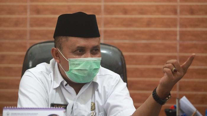 Kepala Dinas Peternakan dan Perikanan Kabupaten Blitar Adi Andaka