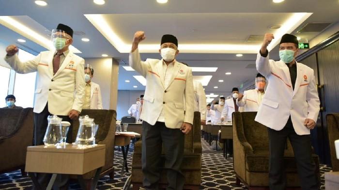 Dewan Pimpinan Tingkat Wilayah PKS DKI Jakarta menggelar pelantikan pengurus MPW, DPW, dan DSW untuk masa bakti 2020-2025.