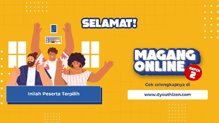 Pemenang Magang Online Batch 2