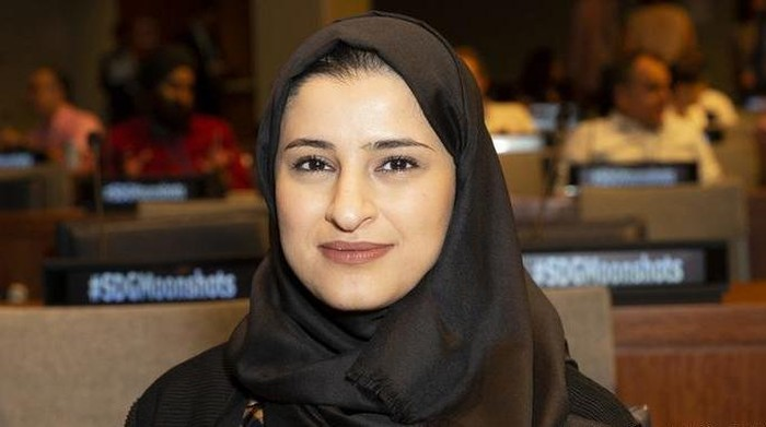 Sarah Al Amiri, Menristek Uni Emirat Arab