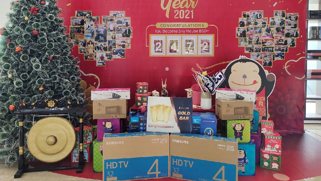 Apartemen Laris Sebelah AEON MALL BSD CITY, Fase 2 Segera Topping Off
