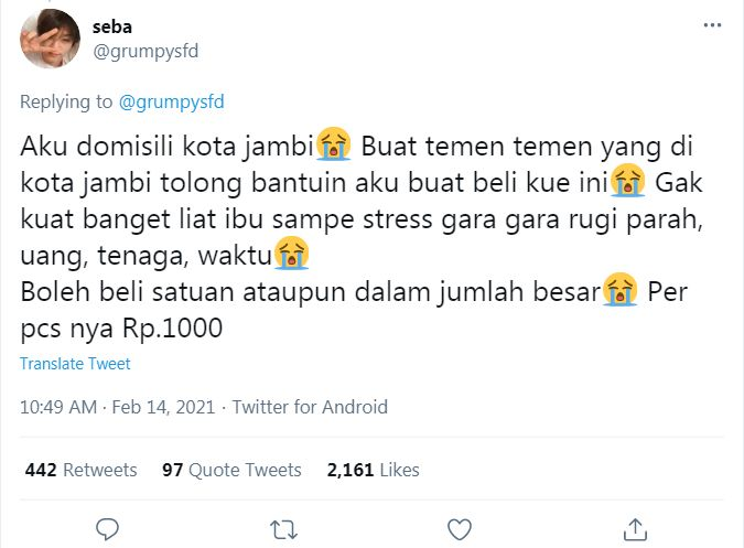 Tega! Orang Ini Tipu Ratusan Netizen dengan Jualan Kue 'Palsu'