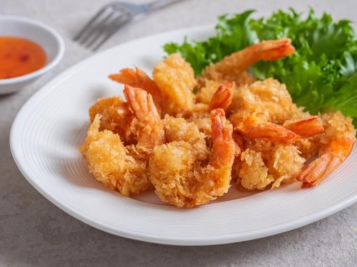 Udang Goreng Tepung ala Rumah Makan Seafood