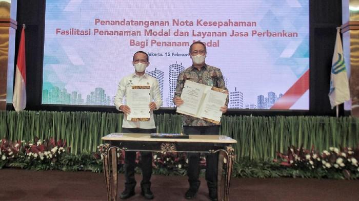 Bank BNI dan BKPM melakukan sinergi guna memudahkan penanam modal asing masuk ke Indonesia.