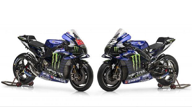 Motor tim Monster Energy Yamaha untuk edisi MotoGP 2021.