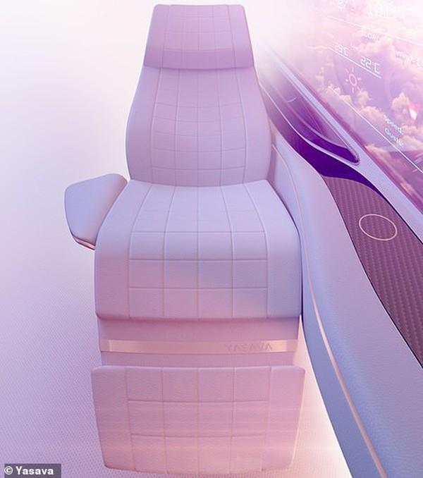 Desain bangku kekinian ala Yasava yang futuristik dan nyaman(Yasava)