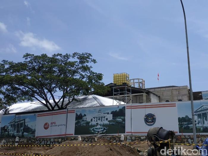 Begini Progres Pembangunannya museum SBY*ANI di Pacitan