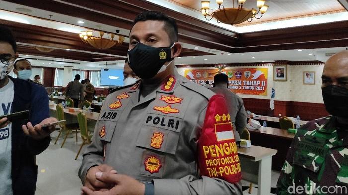 Kapolres Jaksel Kombes Azis Andriansyah