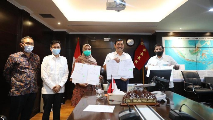 Luhut Binsar Pandjaitan mengumumkan susunan pengurus PB PASI.