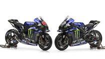 Ini Tampilan Motor MotoGP Yamaha Tunggangan Vinales-Quartararo