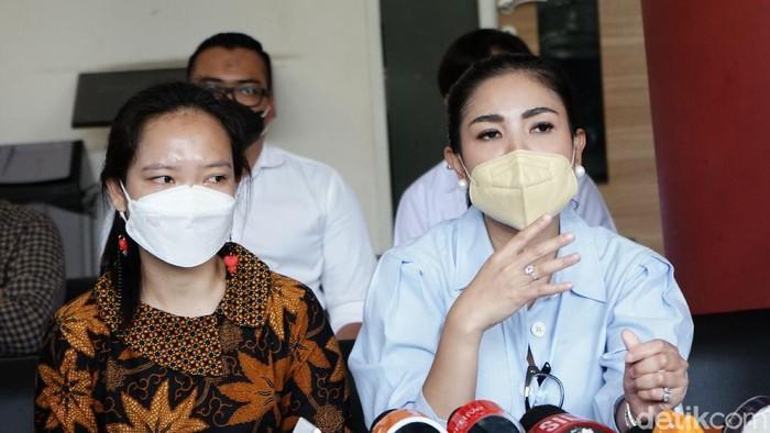 Nindy Ayunda datangi Komnas Perempuan, Tunjukkan Bukti KDRT