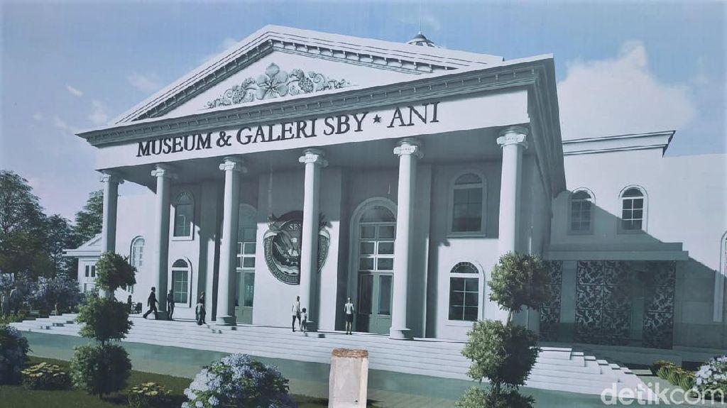 Potret Pembangunan Museum SBY di Tengah Isu Kucuran Rp 9 M