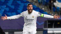 Gol Sergio Ramos di Liga Champions Lewati Legenda Striker Top