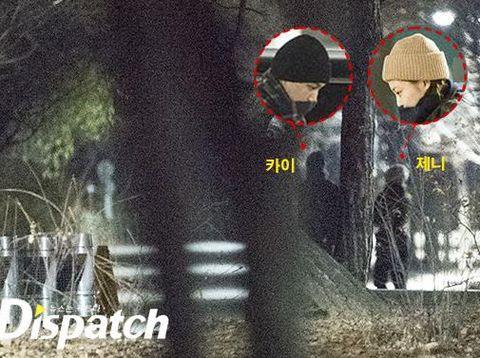 Jennie BLACKPINK dan Kai EXO